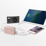 Lab.C X5 5Port USB Wall Charger - Rose Gold, LABC-587-RG_KR - neoriginální