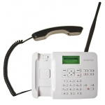 ALIGATOR T100 Stolní telefon na simkartu White, AT100W