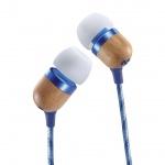 MARLEY Smile Jamaica - Denim, sluchátka do uší s ovladačem a mikrofonem, EM-JE041-DN