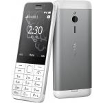 Nokia 230 Single SIM White Silver, A00027220