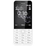 Nokia 230 Dual SIM White Silver, A00026951