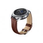 Samsung výměnný pásek Aligator Gear S3 , Brown, ET-YSA76MDEGWW