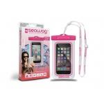 SEAWAG Voděodolné pouzdro pro telefon Bílá/Růžová, SEAWAG_W3X