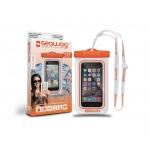 SEAWAG Voděodolné pouzdro pro telefon Bílá/Oranžová, SEAWAG_W5X