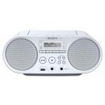 Sony mp3/CD/Radio přehrávač ZS-PS50CP,bílý, ZSPS50W.CET