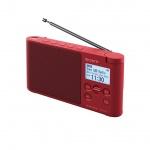 Sony radiopřijímač XDRS41DR.EU8 DAB tuner červený, XDRS41DR.EU8