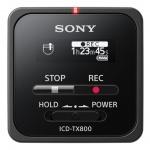 Sony dig. diktafon ICD-TX800,černý,16GB,USB, ICDTX800B.CE7
