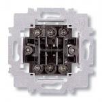 ABB přístroj spínače 6+6 (6+1) střídavý dvojitý, 3558-A52340