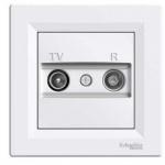 Asfora - zásuvka TV-R, koncová - 1 dB - bílá, EPH3300121