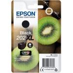 EPSON singlepack,Black 202XL,Premium Ink,XL, C13T02G14010 - originální