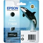 Epson T7608 Ink Cartridge Matte Black, C13T76084010
