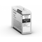 Epson Singlepack Photo Black T850100 UltraChrome HD ink 80ml, C13T850100