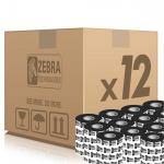 Zebra páska 2300 Wax. šířka 33mm. délka 74m, 02300GS03307