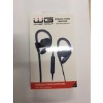 Bluetooth Sluchátka s Mikrofonem šedá-černá 4206