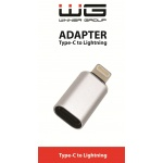 Type C to Lightning adaptér/silver/paper box/NWW06