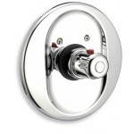Podomítkový termostat Aquamat chrom 2651,0