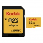 microSDHC 32GB Kodak Class 10 w/a (EU Blister), 2441239