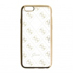 GUHCPSETR4GG Guess 4G TPU Pouzdro Gold pro iPhone 5/5S/SE, 30553