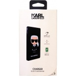 KLPB4KFKIKBK Karl Lagerfeld Iconic PowerBank 4000mAh Black, 2444521