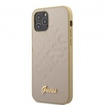 GUHCP12LPUILGLG Guess Iridescent Love Zadní Kryt pro iPhone 12 Pro Max 6.7 Gold, 2453519