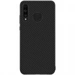 Nillkin Synthetic Fiber Ochranný Zadní Kryt Carbon Black pro Huawei P30 Lite, 2445678