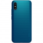 Nillkin Super Frosted Zadní Kryt pro Xiaomi Redmi 9A Peacock Blue, 2453285