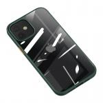 USAMS US-BH627 PC+TPU Kryt pro iPhone 12/12 Pro Janz Series 6.1 Dark Green, 2453555