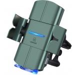 USAMS CD133 Automatic Coil Držák do Auta vč. Bezdrátového Dobíjení 10W Black, 57983101150