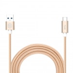 Nillkin Elite Type C USB 3.0 Datový Kabel Gold (EU Blister), 31322