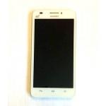 Huawei  G620 LCD Display + Dotyková Deska + Přední Kryt White, 31916