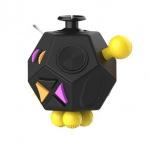 Fidget Cube 12-Side Black, 2435465