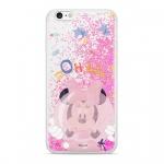Disney Minnie 046 Glitter Back Cover Pink pro Samsung J600 Galaxy J6 2018, 2442331