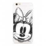 Disney Minnie 012 Back Cover Transprent pro Xiaomi Redmi 6/6A, 2442388