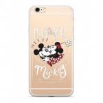 Disney Mickey & Minnie 002 Back Cover Transparent pro Xiaomi Redmi 6/6A, 2442390