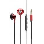 USAMS EP-29 In-Ear Stereo Headset 3,5mm Red, 2442462