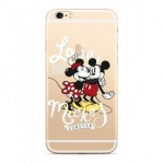Disney Mickey & Minnie 001 Back Cover Transparent pro Xiaomi Redmi 6/6A, 2442859