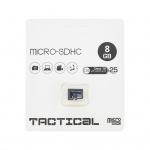 microSDHC 8GB Tactical Class 10 wo/a (EU Blister), 2443014