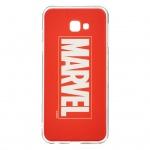 MARVEL 001 Zadní Kryt Red pro Samsung J415 Galaxy J4+, 2443595