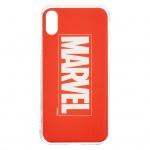 MARVEL 001 Zadní Kryt Red pro iPhone XS, 2443601