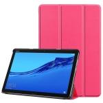 Book Tri Fold Pouzdro pro Huawei MediaPad M5 Lite 10 Pink, 2444183