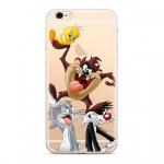 Warner Bros Looney Tunes 001 Zadní Kryt pro Xiaomi Redmi Note 6 PRO Transparent, 2444186