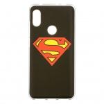 Superman Zadní Kryt 002 pro Xiaomi Redmi Note 6 PRO Black, 2444189
