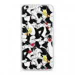 Warner Bros Sylvester and Tweety 004 Zadní Kryt pro Xiaomi Redmi Note 6 PRO Black, 2444190