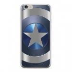 MARVEL Captain America 005 Zadní Kryt pro iPhone XR Silver, 2445174
