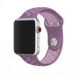 Handodo Double Silikonový Pásek pro iWatch 1/2/3 42mm Purple/Pink (EU Blister), 2445311