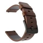 Handodo Kožený Pásek pro Samsung Galaxy Watch Active Brown (EU Blister), 2447358