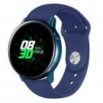 Handodo Silikonový Pásek pro Samsung Galaxy Watch Active Blue (EU Blister), 2447370