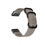 Tactical 673 Nylonový Řemínek pro Garmin Fenix 5/6 QuickFit 22mm Grey, 2453247