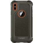 Spigen Pro Guard Cover pro iPhone X Army Green (EU Blister), 2440199