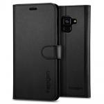 Spigen Wallet S for Galaxy Samsung A8 2018 Black (EU Blister), 2440203